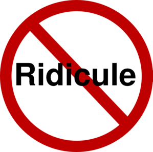 THE TRUTH ABOUT RIDICULE***.