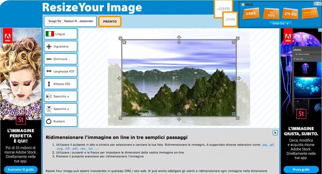Come Ridimensionare un\' immagine in modo semplice, veloce e.