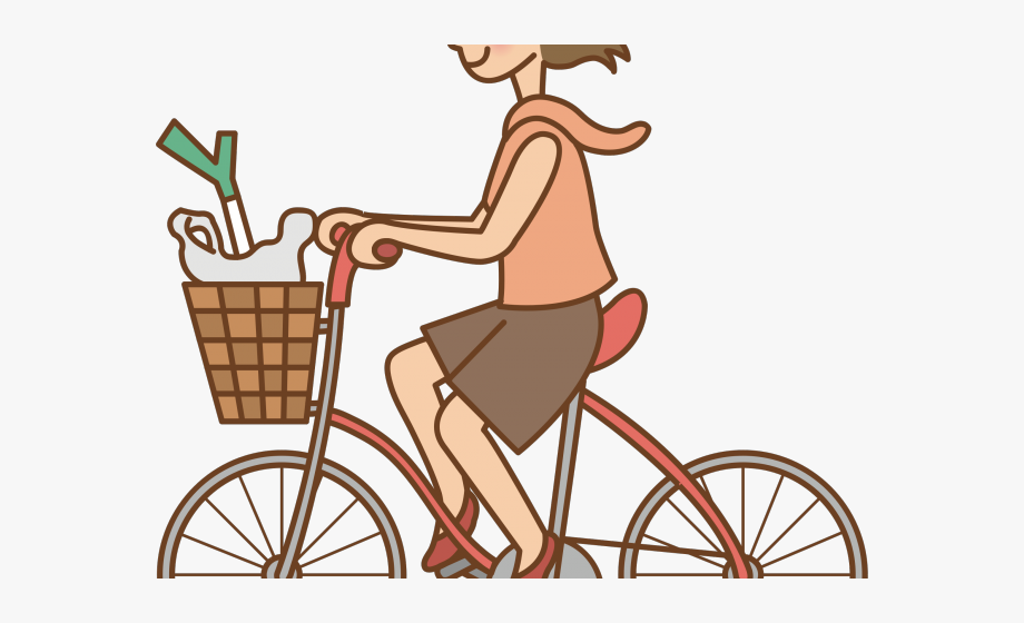 Ride Clipart Woman.