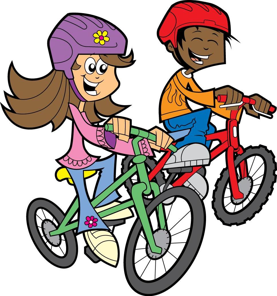 Riding bicycle clipart 9 » Clipart Station.