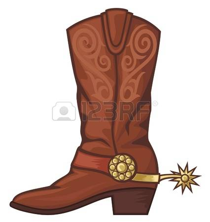 2,487 Cowboy Boots Stock Vector Illustration And Royalty Free.