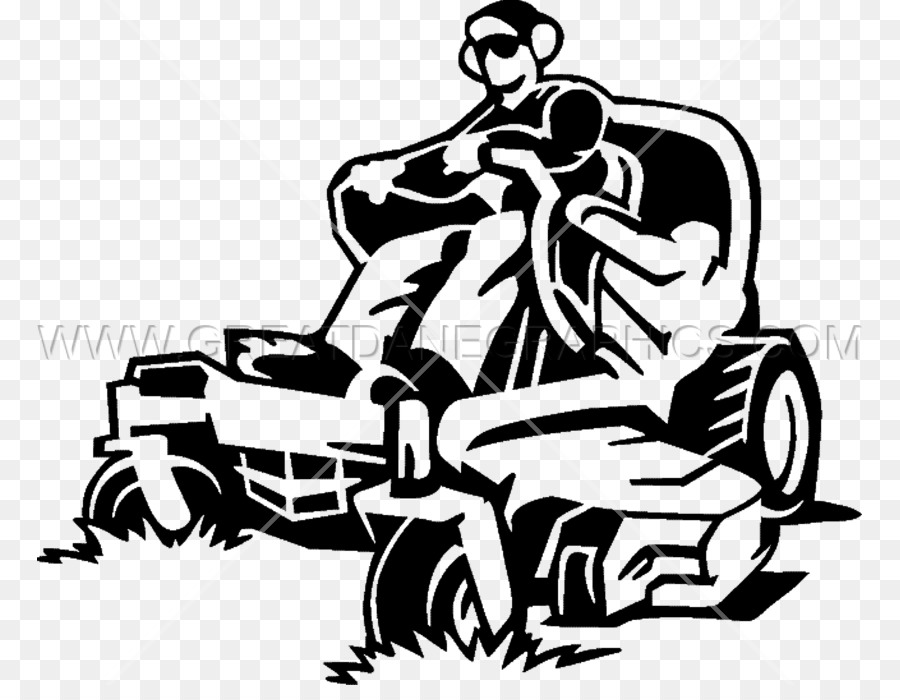 Lawn Mower Png Black And White & Free Lawn Mower Black And.