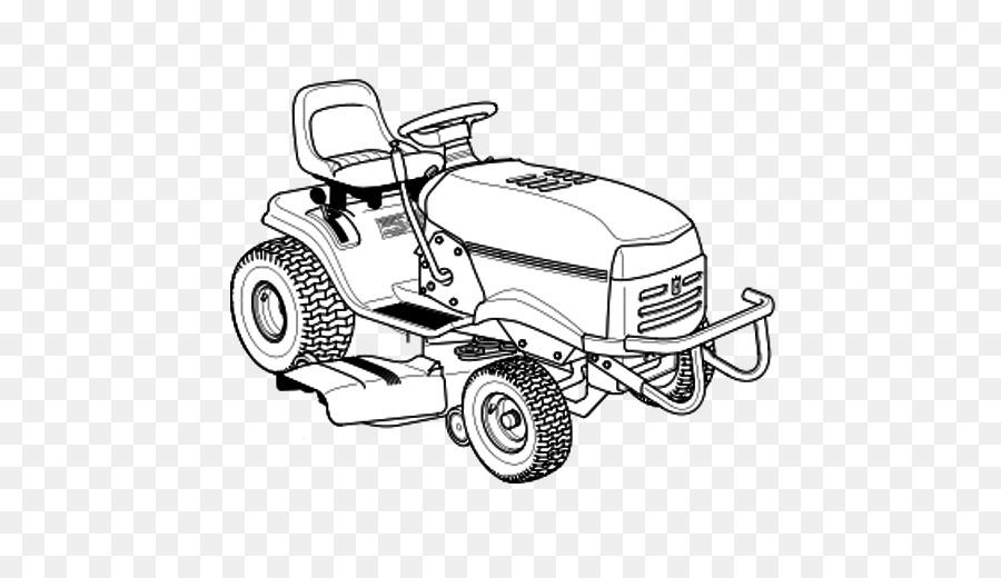 Lawn Mowers Car png download.