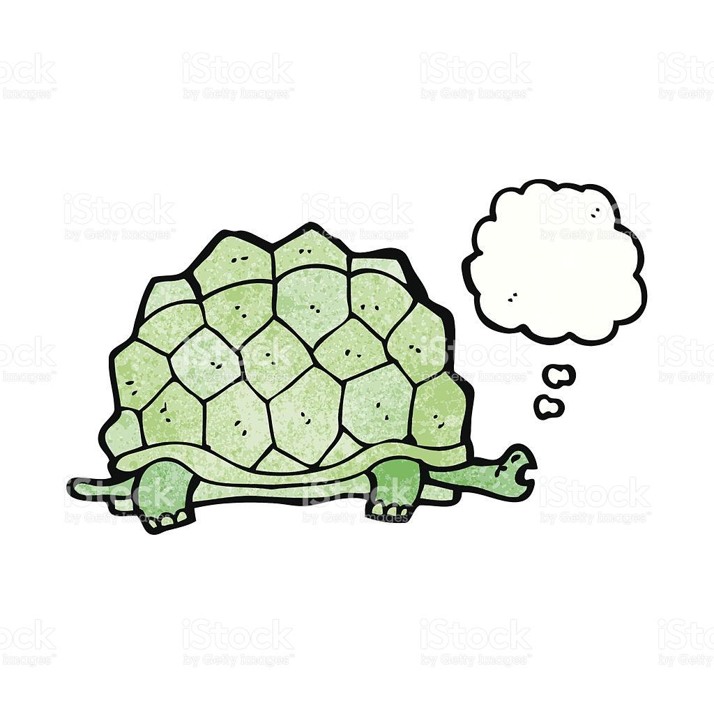Riesenschildkröte Comic Vektor Illustration 481195025.