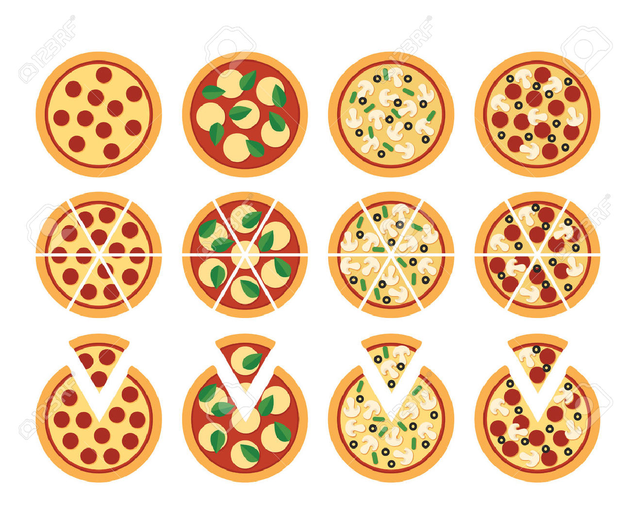 10,084 Pizza Slice Stock Illustrations, Cliparts And Royalty Free.