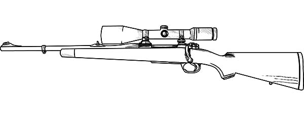 Rifle Clipart Black And White (88+ images in Collection) Page 3.