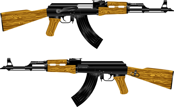 Ak Rifle Clip Art at Clker.com.
