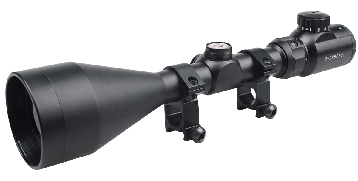 Rifle Scope PNG Transparent Image.
