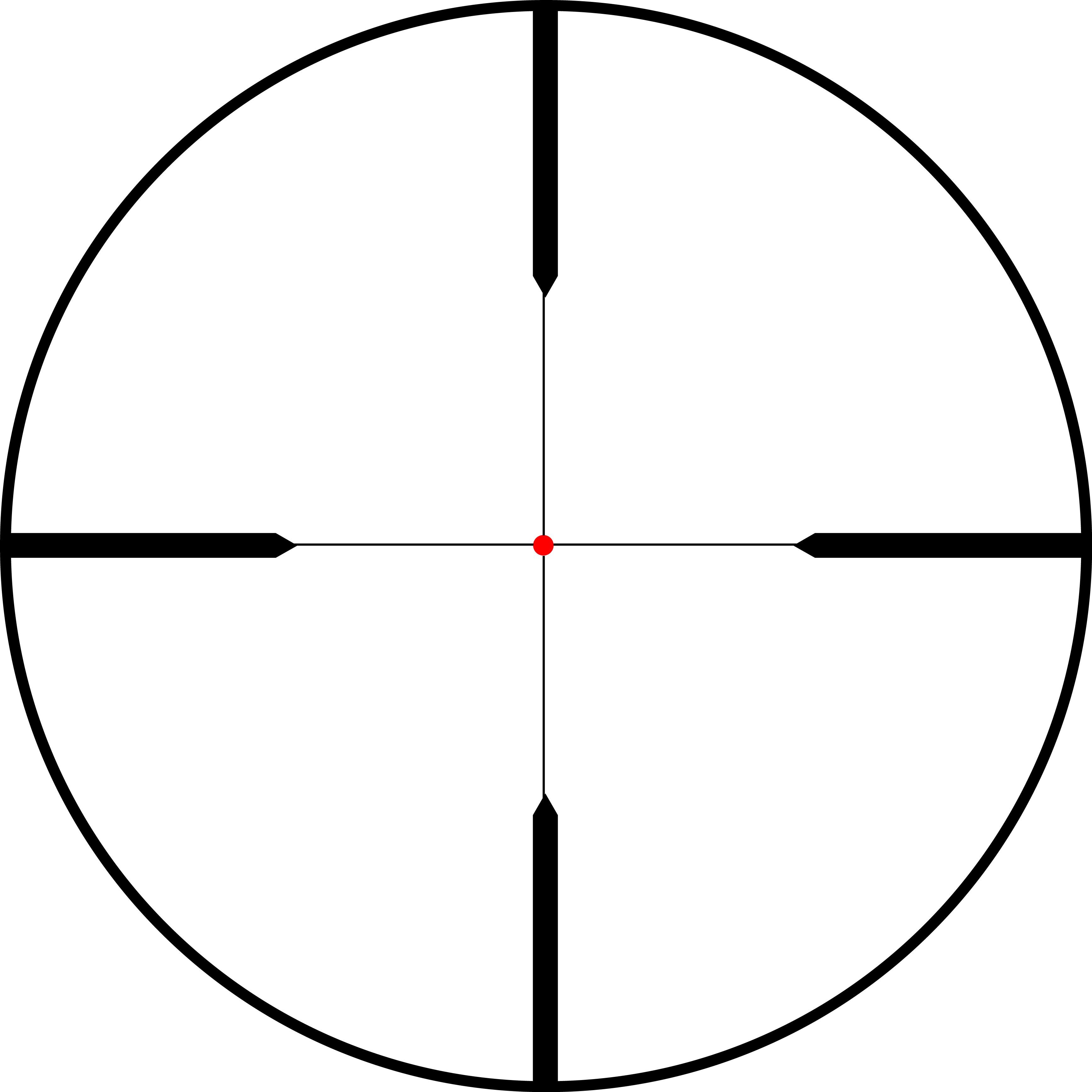 Crosshair PNG Cliparts #2414423 (License #91491.
