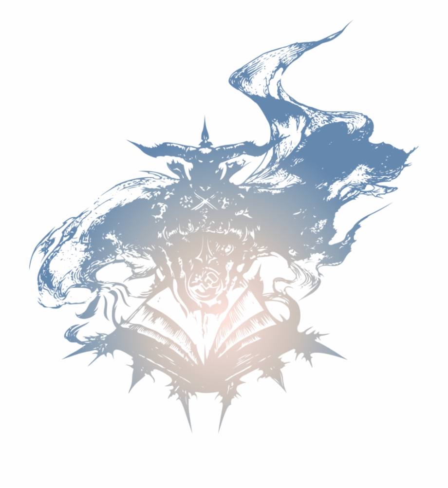 Final Fantasy Art Logo.