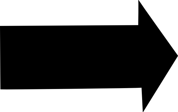 Right Arrow clip art Free vector in Open office drawing svg.
