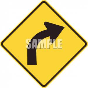Road Right Clipart.