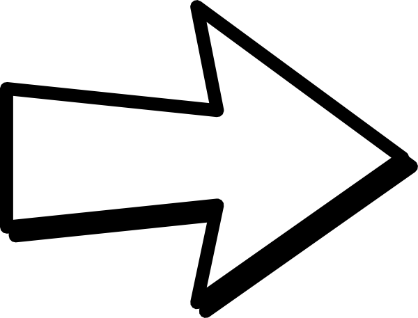 Arrow Black And White Clipart.