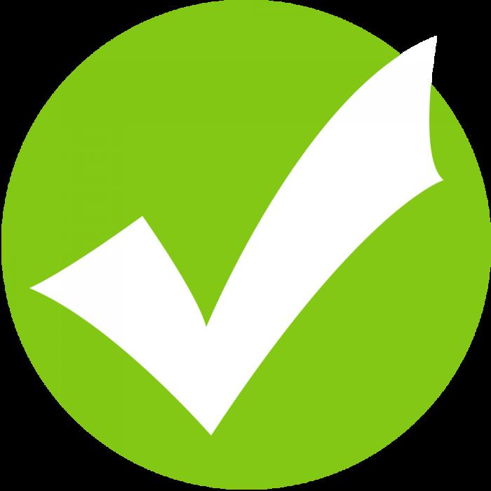 Correct Symbol Png Vector, Clipart, PSD.