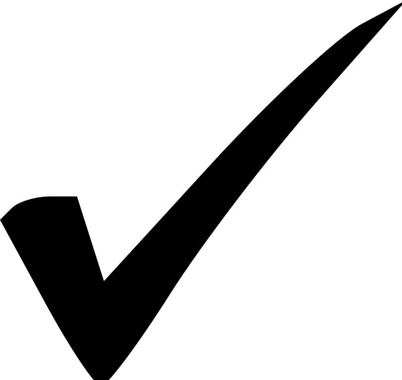 Checkmark clipart right sign, Checkmark right sign.