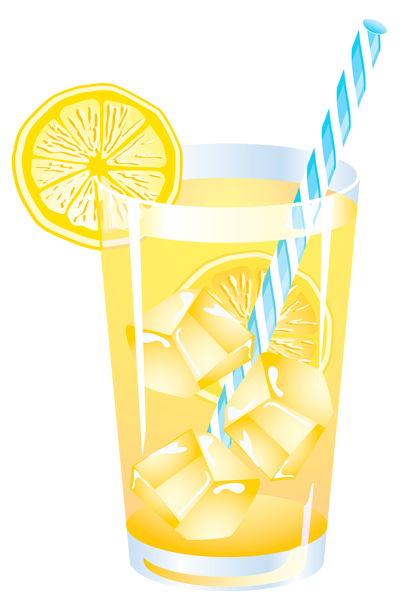 I\'m drinking a huge glass of lemonade right now.