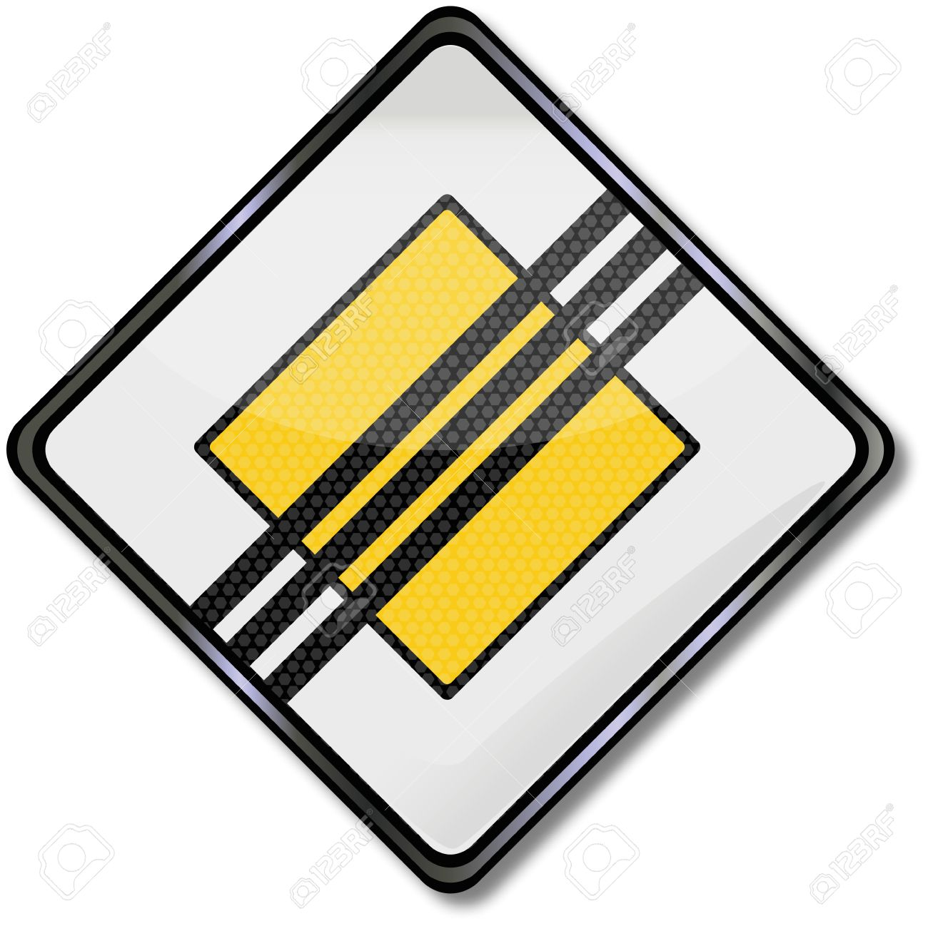 Traffic Sign Right Of Way Royalty Free Cliparts, Vectors, And.