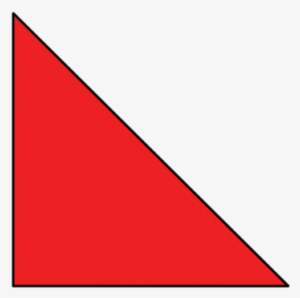 Right Triangle PNG, Transparent Right Triangle PNG Image.