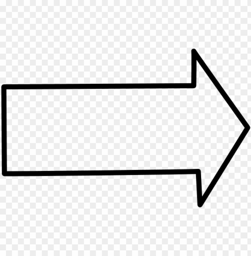 white png arrow.