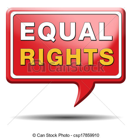 Equal rights Stock Illustrations. 1,200 Equal rights clip art.