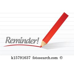 Reminder Clipart Illustrations. 30,219 reminder clip art vector.