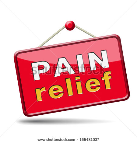 Pain Relief Clipart.