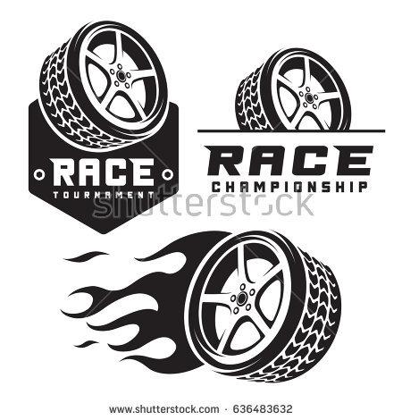Wheel Logos.