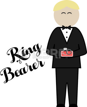 73 Ring Bearer Stock Vector Illustration And Royalty Free Ring.