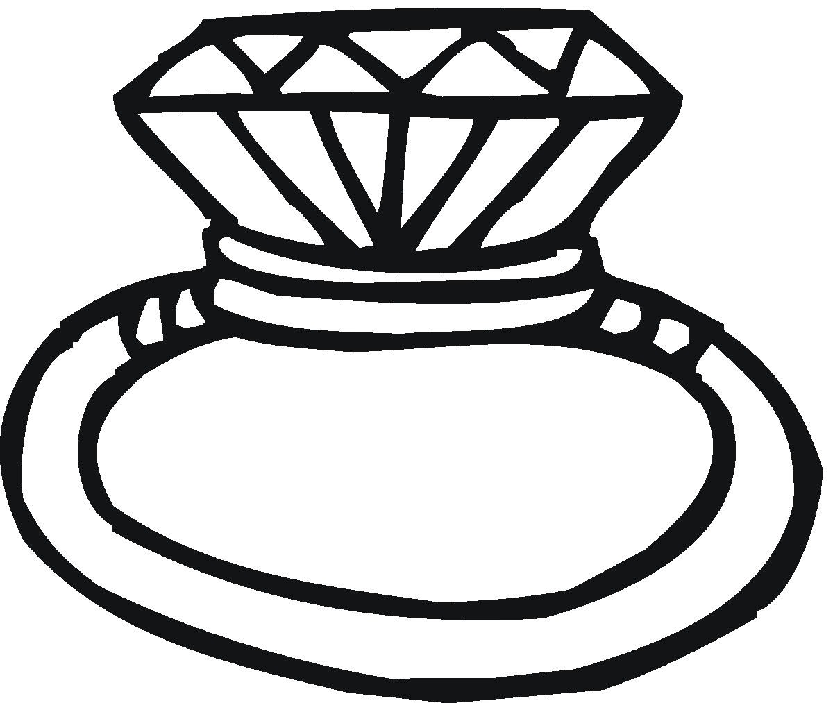 Ring black and white clipart » Clipart Station.