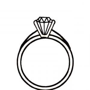 Ring Clipart Black And White.