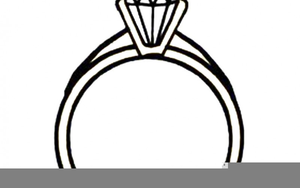 Wedding Ring Clipart Black And White.