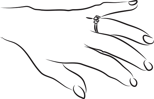 Ring Finger Clipart Clipground