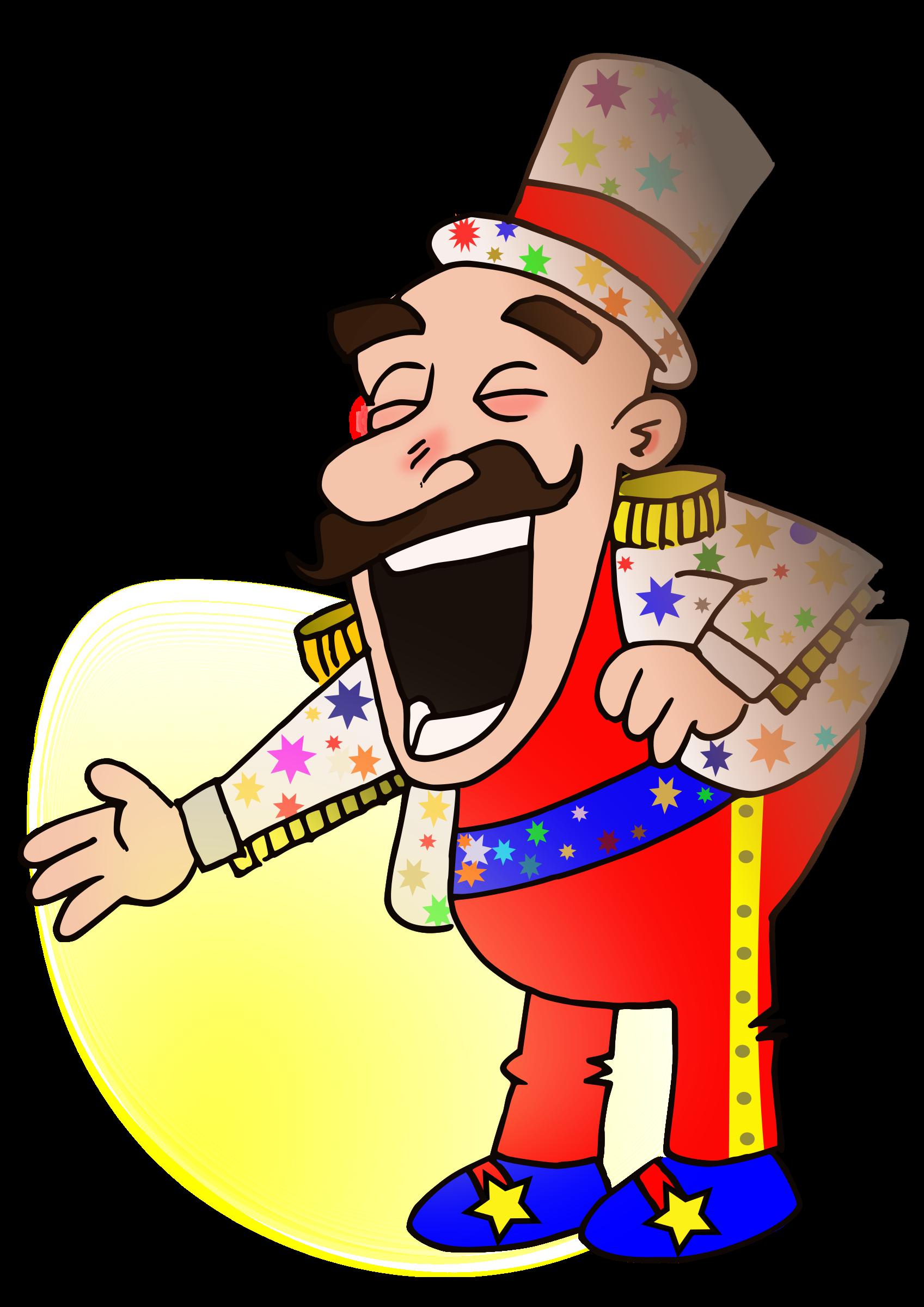4671 Circus free clipart.