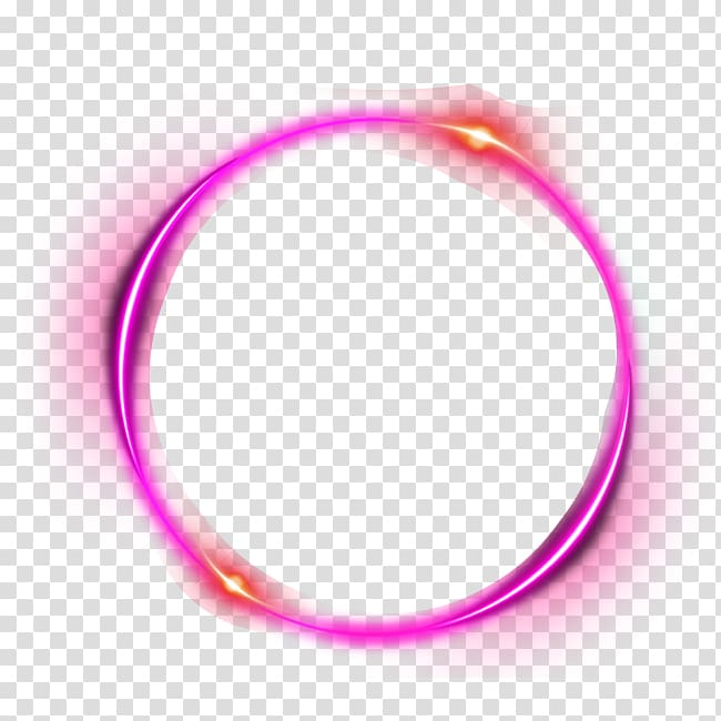 Pink and orange ring illustration, Light Halo, PINK ring.
