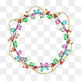 Christmas Lights, Christmas, Light Ring, Light Bulb PNG and.