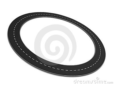 Road Ring Royalty Free Stock Images.