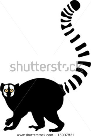 Lemur Clipart.