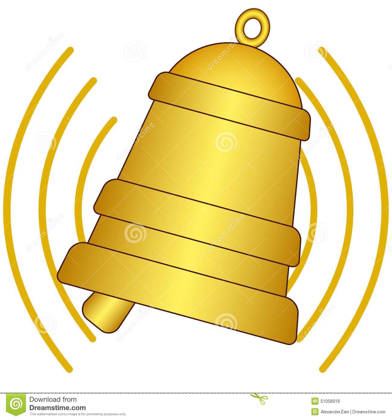 Clipart bell ringing.