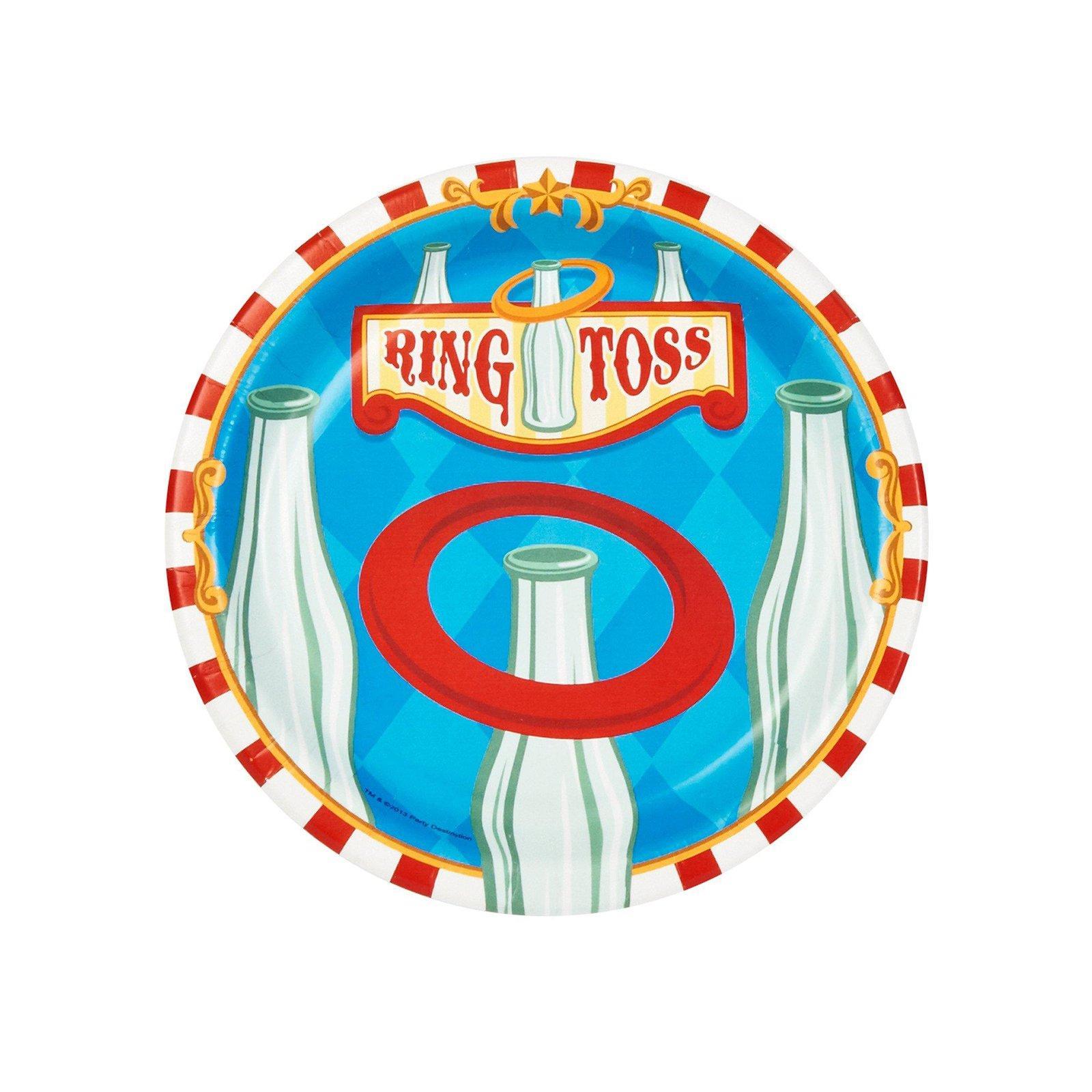 Carnival Ring Toss Clipart.