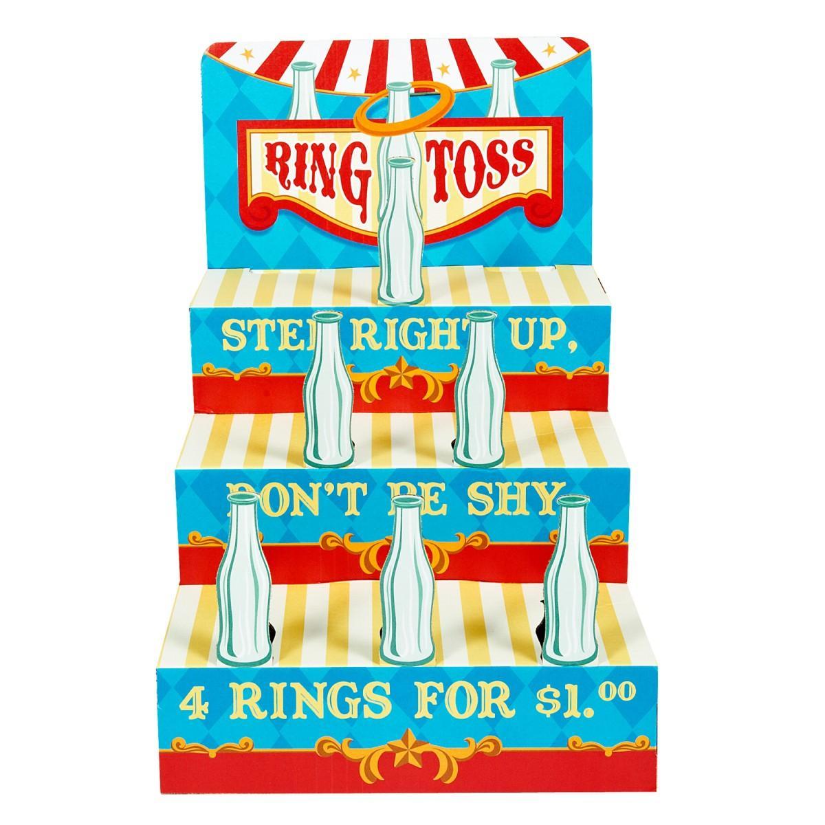 Carnival Ring Toss Game.