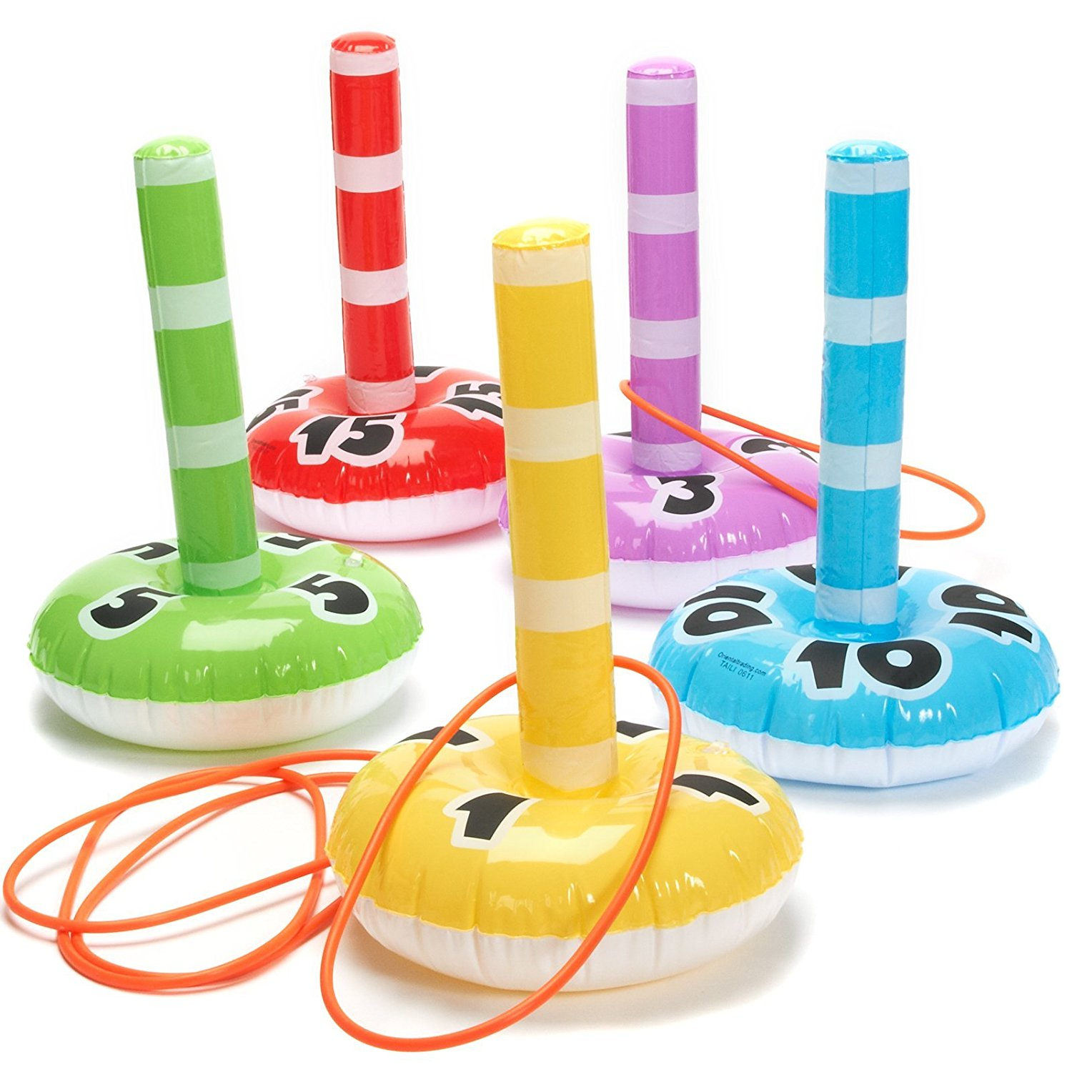 Amazon.com: Fun Express Inflatable Ring Toss Game: Toys & Games.