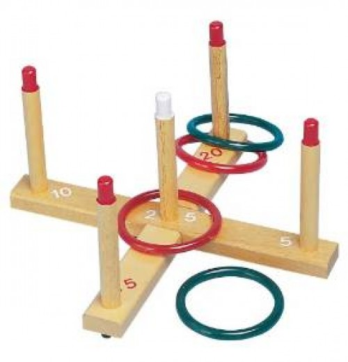 Ring Toss Set.