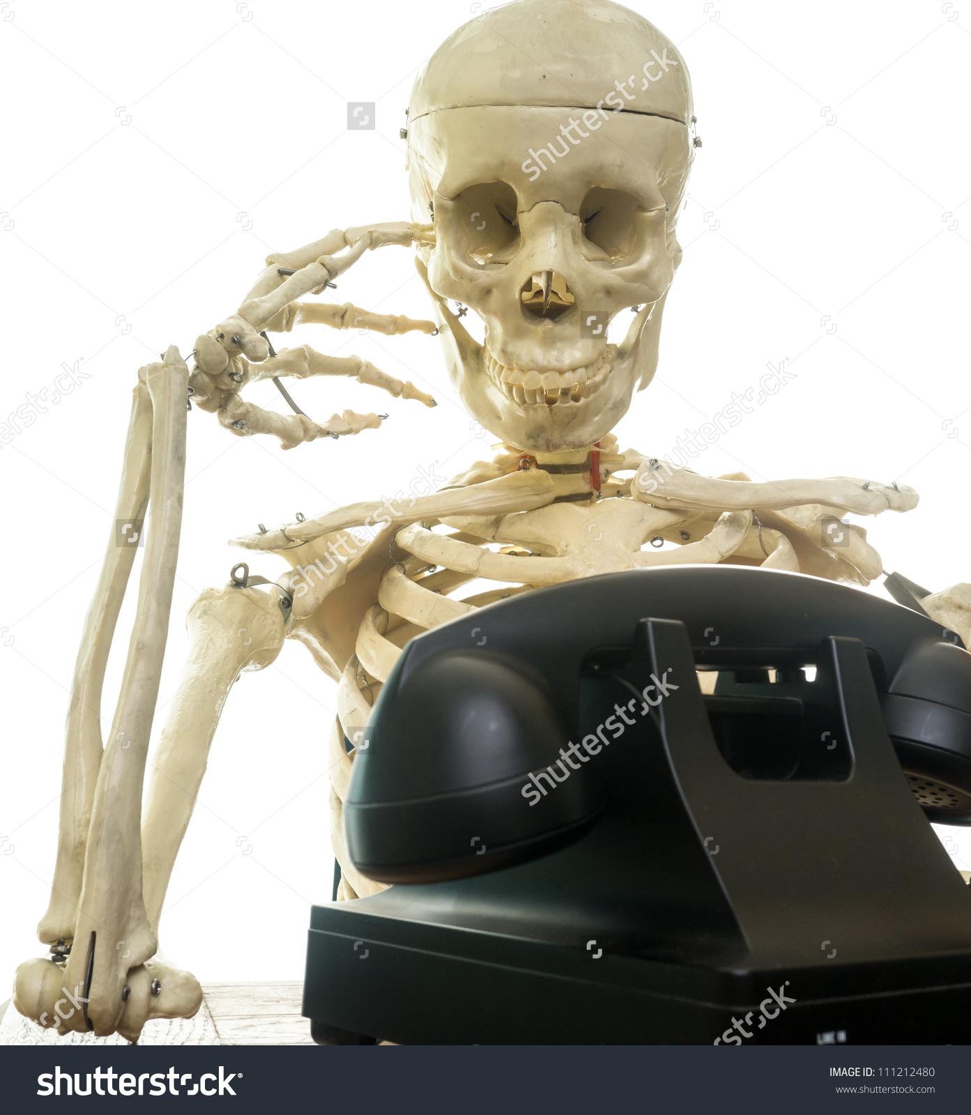 Waiting Phone Ring Stock Photo 111212480.