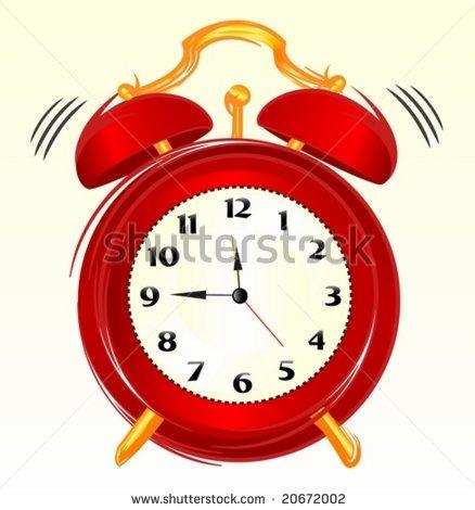 Clock Ringing clipart.