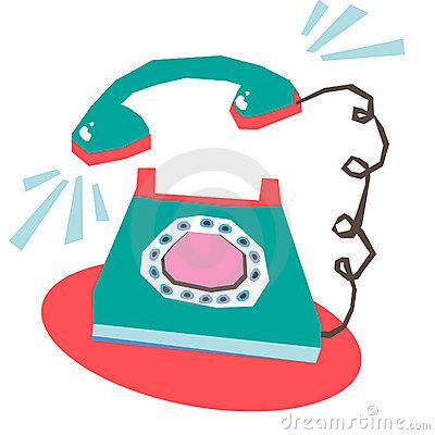 Phone Ringing Clipart.