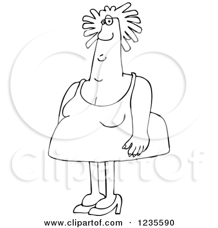 Royalty Free Woman Illustrations by Dennis Cox Page 7.
