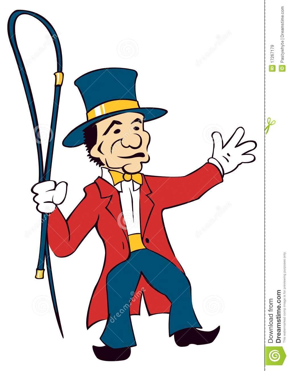Circus Ringmaster Clipart.