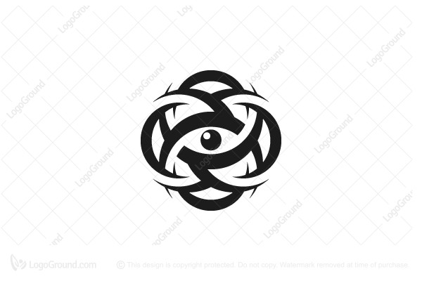 Exclusive Logo 165577, Rings Eye Logo.