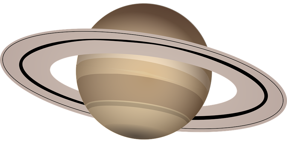 Free vector graphic: Saturn, Planet, Saturn Rings.