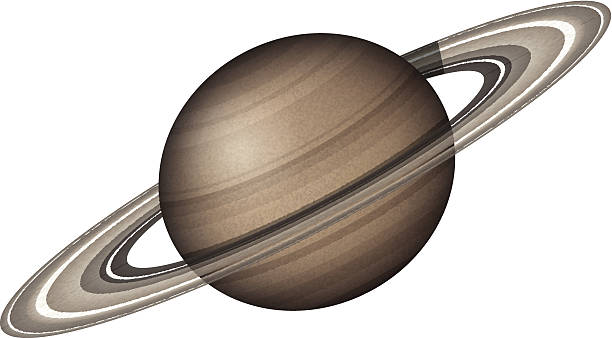 Rings Of Saturn Clip Art, Vector Images & Illustrations.